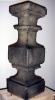 Ballusterimitat; Höhe: ca 60 cm, Material: Styropor Latex Sand Farbe
