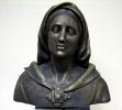 Historisches Portrait Bronzeimitat nach Denkmal