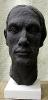 Portrait nach Modell Hartschaum bemalt